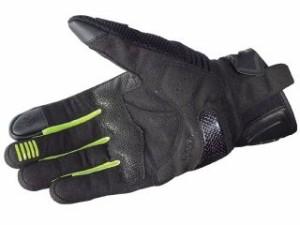 KOMINE GK-187カーボンプロテクトメッシュグローブ カラー:ブラック/ネオン サイズ:2XL