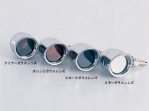 ポッシュフェイス VMAX ウインカー関連パーツ ブリムタイプウインカー(メッキボディ) スモークガラスレンズ
