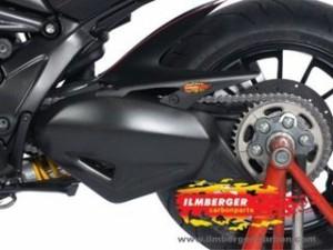 イルムバーガー ディアベル ドレスアップ・カバー Ducati DIAVEL用 カーボンスイングアームカバー