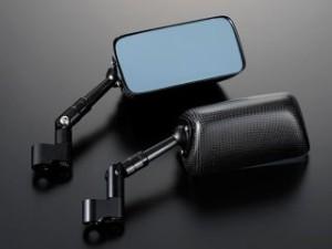 マジカルレーシング 汎用 ミラー関連パーツ NK-1ミラー・タイプ3ヘッド ショートステム 綾織りカーボン製 ブラック 正ネジ…