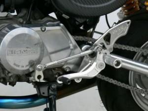 オーバーレーシング モンキー バックステップ関連パーツ バックステップ 3ポジション ドラム