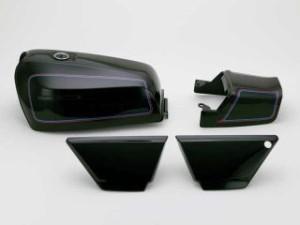 ドレミ ZEPHYR400FXタイプタンクセット カラー:E1後期エボニー 仕様:前期シート