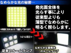 ライズコーポレーション 汎用 ホーン・電飾・オーディオ 面発光タイプ LED ルームランプ T10 36mm 37mm 40m…