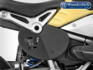 ワンダーリッヒ Wunderlich その他外装関連パーツ アルミサイドナンバープレート「Race」 マットブラック