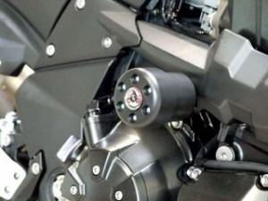 パイツマイヤー Z1000 Z750 スライダー類 クラッシュパッド X-Pad ホワイト