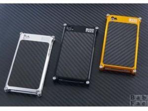 ベビーフェイス BABYFACE 小物・ケース類 iPhone 4/4S用 ビレットケース カーボンバック シルバー