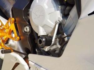 ベビーフェイス ブルターレ800ドラッグスター F3 675 スライダー類 エンジンスライダー 右