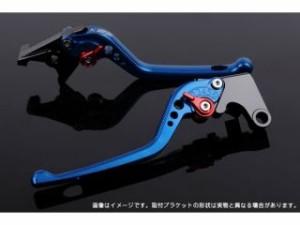 SSK Vストローム650 レバー アジャストレバー 3Dタイプ クラッチ&ブレーキセット ブルー グリーン