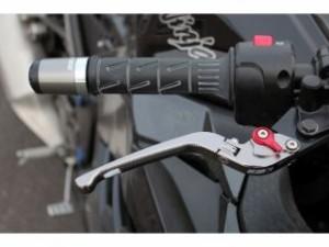 SSK Vストローム650 レバー 可倒式アジャストレバー 3Dタイプ クラッチ&ブレーキセット シルバー シルバー