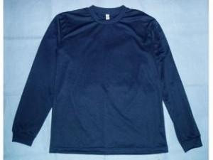 力造 リキゾー カジュアルウェア ドライロングTシャツ ブラック L