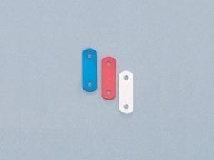 キタコ 汎用 その他外装関連パーツ アルミステー(20-02型/3mm厚) レッド/5mm厚