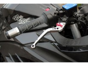 SSK CBR250R レバー アジャストレバー クラッチ&ブレーキセット シルバー ブルー
