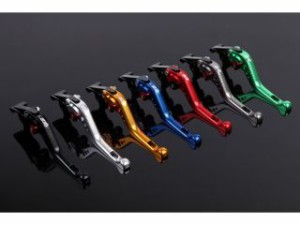 SSK ショートアジャストレバー 3Dタイプ クラッチ&ブレーキセット 本体:レッド アジャスター:シルバー