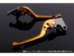 SSK 可倒式アジャストレバー 3Dタイプ クラッチ&ブレーキセット 本体:ゴールド アジャスター:ブルー