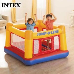 【送料無料】 INTEX インテックス プレイハウス ジャンプオーレーン キッズ48260 2021 SUMMER 室内遊び ビーチ 家遊び プール 海水浴 ジ
