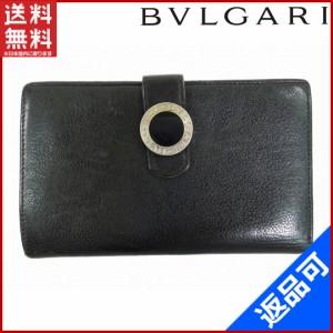 135c963fb193 ブルガリ 財布 BVLGARI 長財布 ブルガリブルガリ ブラック 人気 即納 【中古】 X11414
