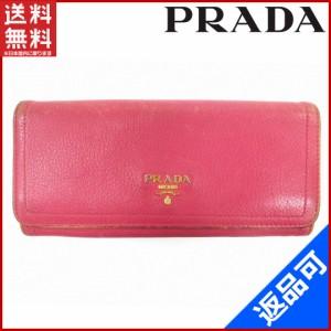 new product 42e09 a73d2 プラダ 財布 ピンクの通販|au Wowma!