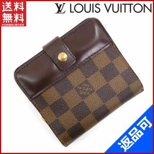 0b3f11b61b49 ルイヴィトン 財布 LOUIS VUITTON 二つ折り財布 ラウンドファスナー メンズ可 コンパクトジップ エベヌ 送料