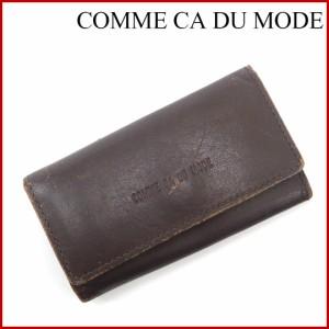 394d22740d33 コムサデモード キーケース COMME CA DU MODE キーケース 4連キーケース 4連 ブラウン