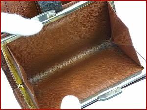 822a67d98d14 ルイヴィトン 財布 LOUIS VUITTON 二つ折り財布 がま口財布 ブラウン 激安 即納 【中古】. 激安 即納