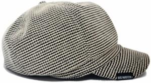CAS-24 ワッフル ビッグキャスケットBIGWATCH/ナチュラル/ビッグサイズ/ビッグワッチ/つば付帽子/Lサイズ