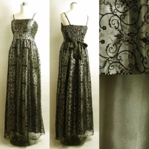 4f6981e90fb1c ロングドレス レギュラーサイズ 黒 格安 ピアノドレス フロッキー 声楽用ドレス 演奏会ドレス バロック音楽 グレー E4601SF