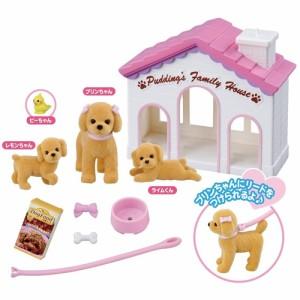 リカちゃん LG-04 プリンちゃんハウスセット おもちゃ こども 子供 女の子 人形遊び 小物 3歳