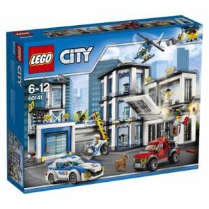 送料無料 LEGO 60141 シティ ポリスステーション