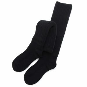 ブラック/2重靴下