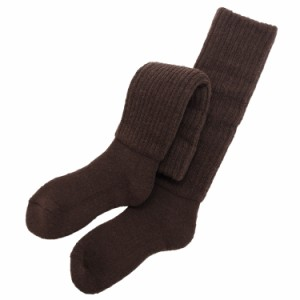 ブラウン/2重靴下