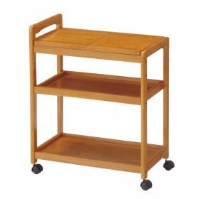 木製キッチンワゴン 【大型商品につき代引不可・時間指定不可・返品不可】 KW-B590(BR)