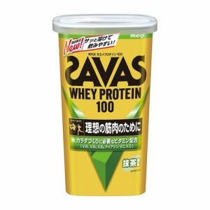 明治 ザバス(SAVAS)ホエイプロテイン100 抹茶風味 294g(約14食分)