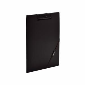 [リヒトラブ/LIHIT LAB] SMART FIT クリップファイル ブラック F-7560-24
