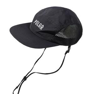 16bcd9de0a1ae POLeR 帽子・防寒・エプロン FURRYFONT 2WAY DRAWCORD MESH CAP BLACK