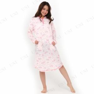 【取寄品】 サザック(SAZAC) マリンツインスターサーマルワンピース ピンク M〜L レディース ファッション 女性用 ルームウェア