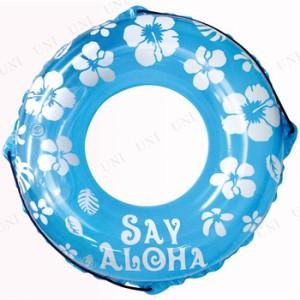 """""""浮き輪 Say Aloha ブルー 80cm DC-14037 海水浴 グッズ プール用品 ビーチグッズ 水物 浮輪 うきわ ウキワ 水遊び用品 71cm~85cm"""""""