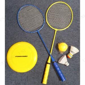 バドミントン&ディスクセット(ディスク色指定不可) おもちゃ オモチャ スポーツ玩具 バトミントン
