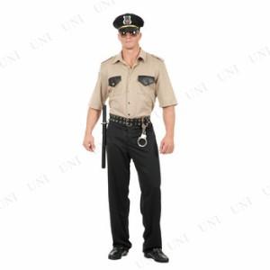 カルフォルニアCOP ポリス 大人用(M) 仮装 衣装 コスプレ ハロウィン 大人 コスチューム メンズ ポリス 警察 男性用 警察官 警官