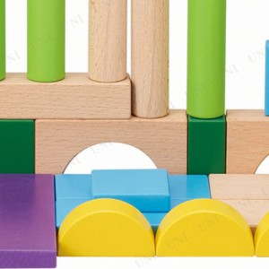 つみきあそび100 オモチャ 知育玩具 幼児 教材 木のおもちゃ 木製玩具