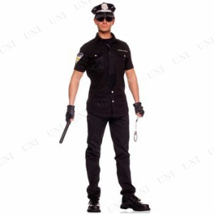 オフィサー 大人用 M 仮装 衣装 コスプレ ハロウィン 大人 コスチューム メンズ ポリス 警察 男性用 パーティーグッズ 警察官 警