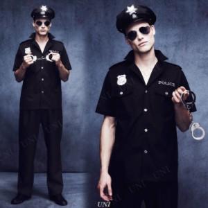 ! コップ(警官) 大人用 M 仮装 衣装 コスプレ ハロウィン 大人 コスチューム メンズ ポリス 警察 男性用 パーティーグッズ 警察官