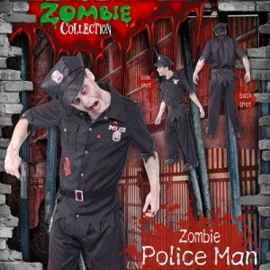 ZOMBIE COLLECTION Zombie Police(ゾンビポリス) 仮装 衣装 コスプレ ハロウィン 大人 コスチューム メンズ ol ゾンビ ポリス
