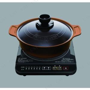 【送料無料】【取寄品】 アイリスオーヤマ IHコンロ土鍋風無加水鍋セット IHKMP-3126DO 台所用品 キッチン用品 キッ