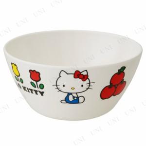 薄肉メラミンボウル ハローキティ70年代 キャラクター 食器 小鉢 台所用品 キッチン用品 皿 サンリオ 洋食器