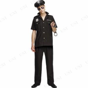 ! コップ(警官) 大人用 L 仮装 衣装 コスプレ ハロウィン 大人 コスチューム メンズ ポリス 警察 男性用 パーティーグッズ 警察官