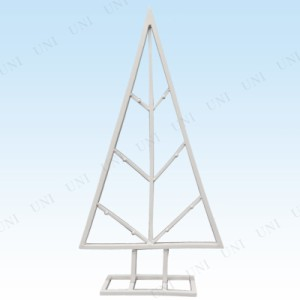 60cm フェールツリー2D ホワイト クリスマスパーティー パーティーグッズ 雑貨 クリスマス飾り 装飾 デコレーション 置物