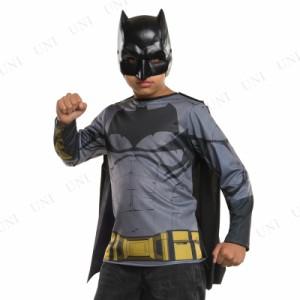 0e3c2610dac779 バットマン シャツ・マスク・マントセット 子供用 S 仮装 衣装 コスプレ ハロウィン 子供 マント