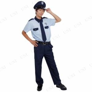 Patymo ポリスマン 半袖 仮装 衣装 コスプレ ハロウィン 大人 コスチューム メンズ ポリス 警察 大人用 男性用 パーティーグッズ