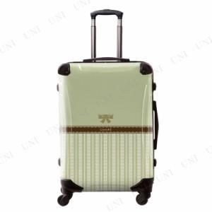 【送料無料】【取寄品】 CARART(キャラート) アートスーツケース フレーム4輪 63L プロフィトロール バニラ 柳色 フ