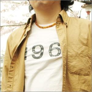 ネックレス 水牛の角 麻ひも ヘンプネックレス bn257